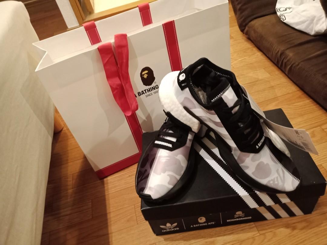 BAPE x NEIGHBORHOOD x Adidas POD S3.1 and NMD STLT, Men's