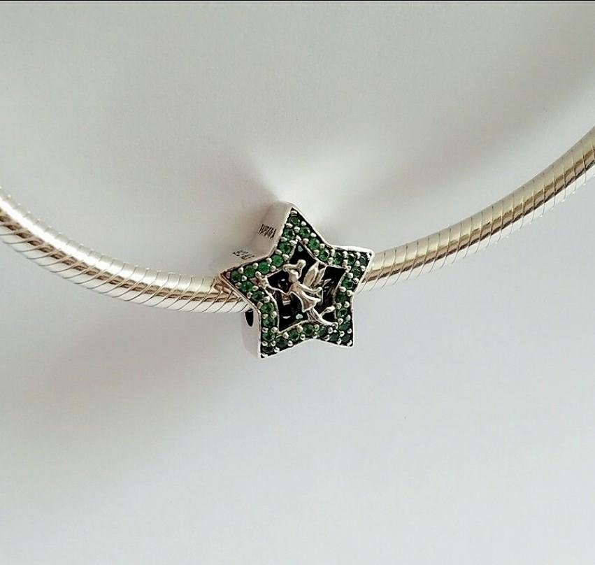 Bnis Pandora Disney Tinkerbell Star Charm Women S Fashion Jewelry Organisers Charms On Carousell