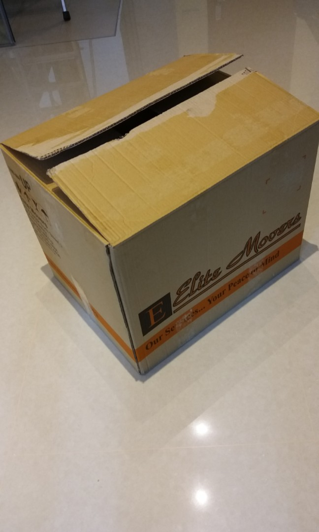 Cardboard Boxes For Moving House Furniture Others On Carousell