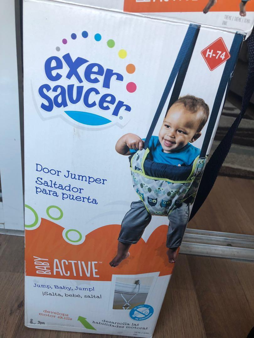 Brand New Exersaucer Door Jumper