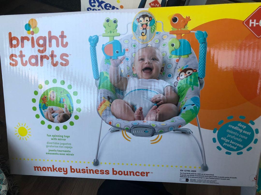 Bright Starts Monkey Business Bouncer