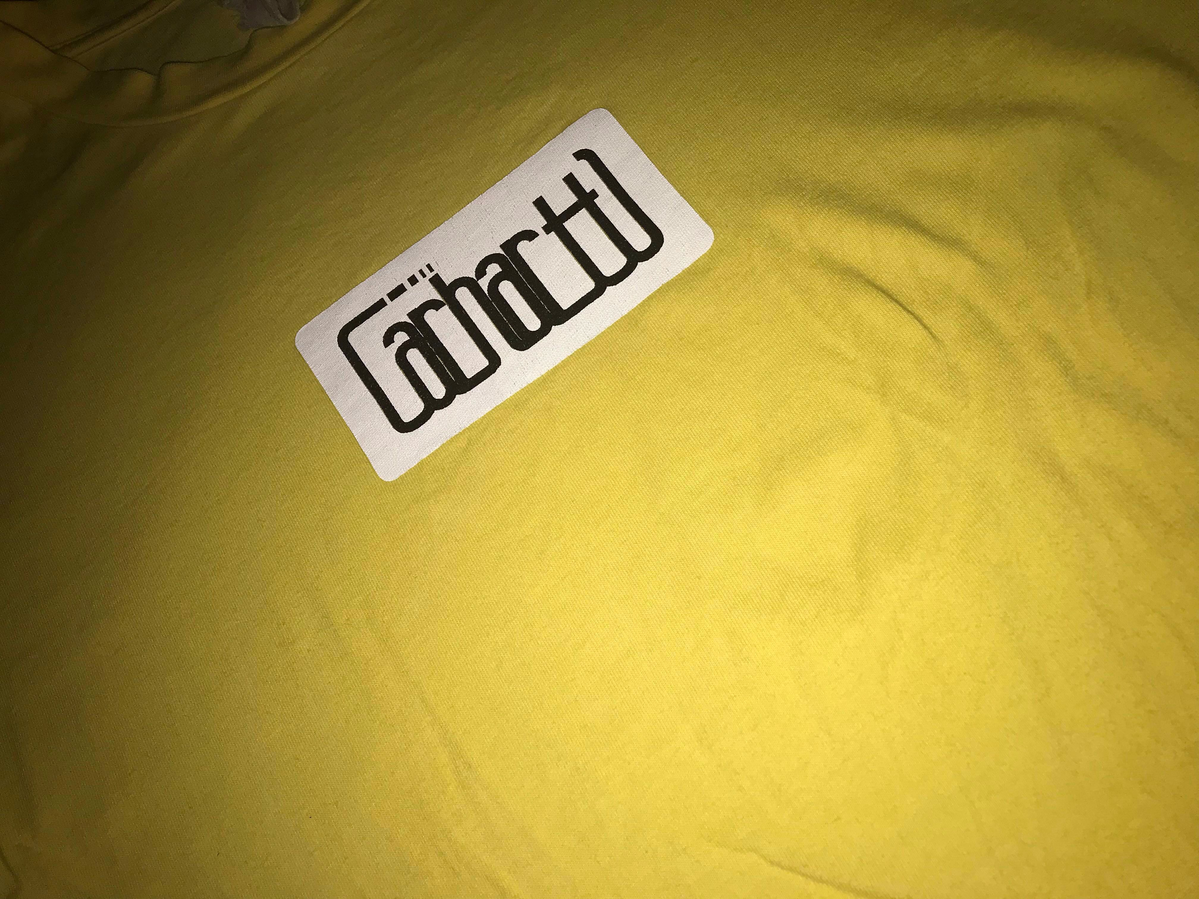 3ee69076f Carhartt Box Logo Tee, Men's Fashion, Clothes, Tops on Carousell