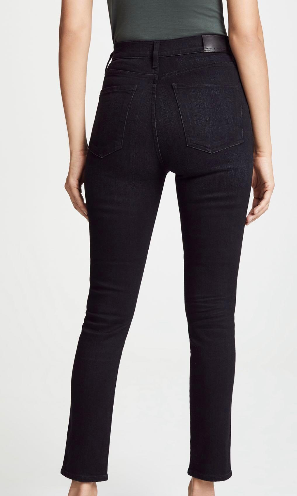 Citizens of Humanity - HIGH RISE EXPOSED ZIP JEANS