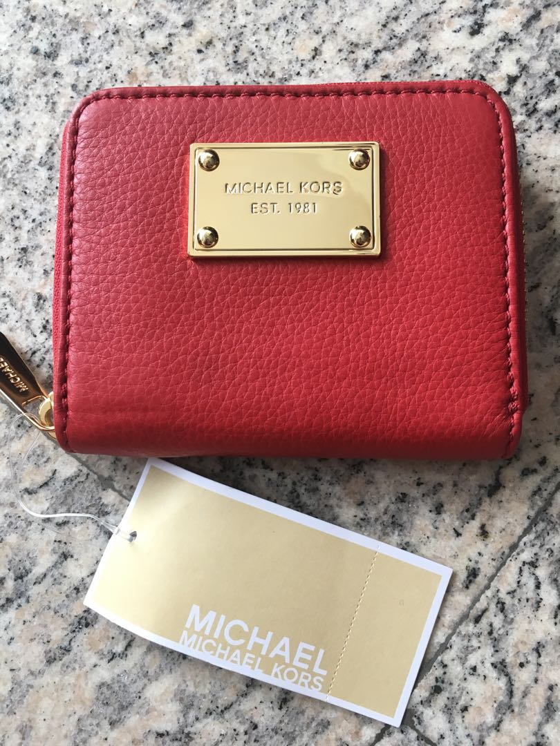 bfb5d3a9ad6d CNY Sale! BN Michael Kors Genuine Leather Wallet Res, Women's ...