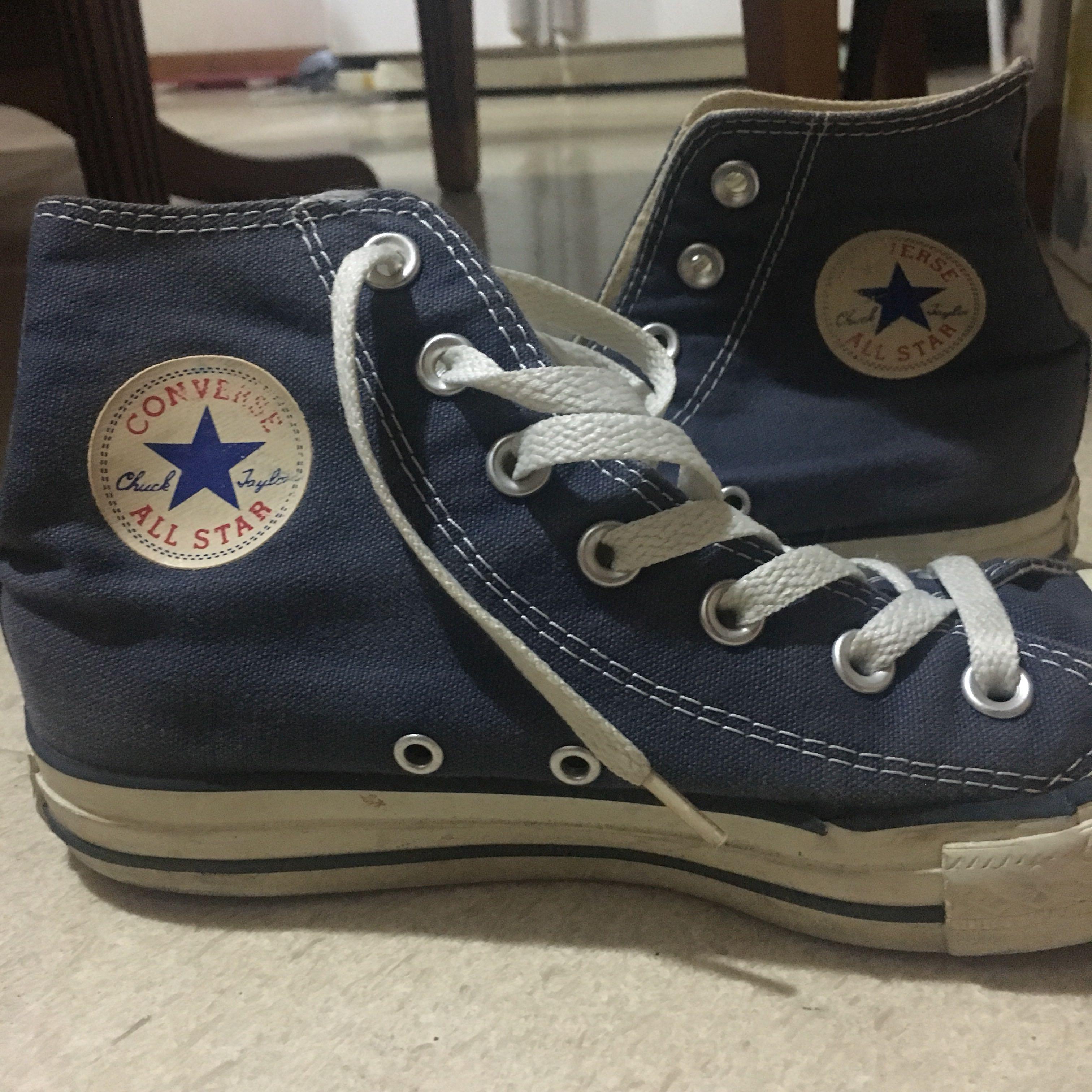 Converse High Cut Blue, Women's Fashion