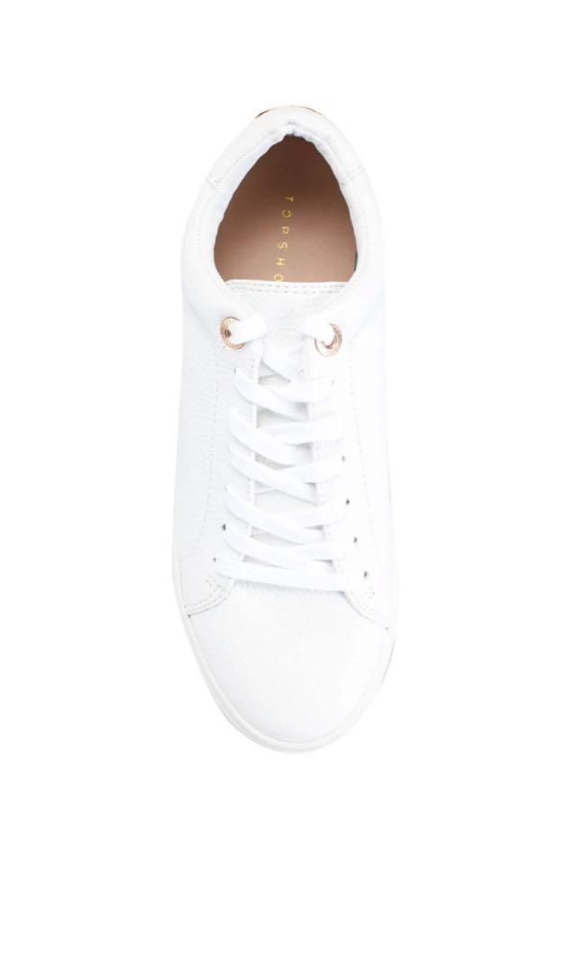 Curly Lace Up Trainers, Women's Fashion