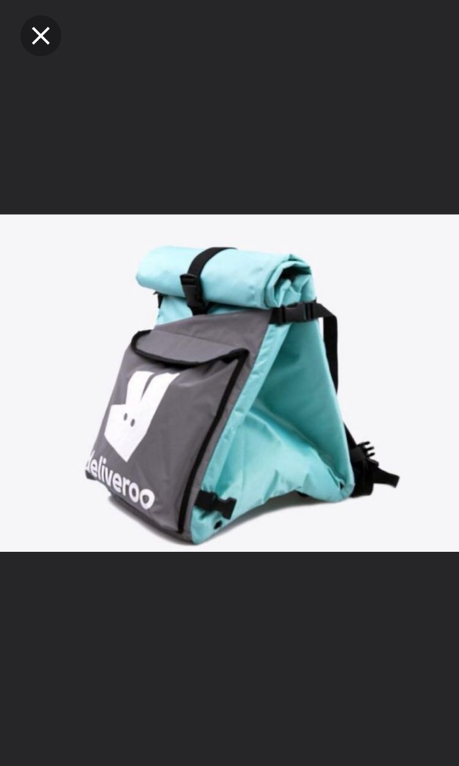 40534890df56 Deliveroo Roll Top Backpack