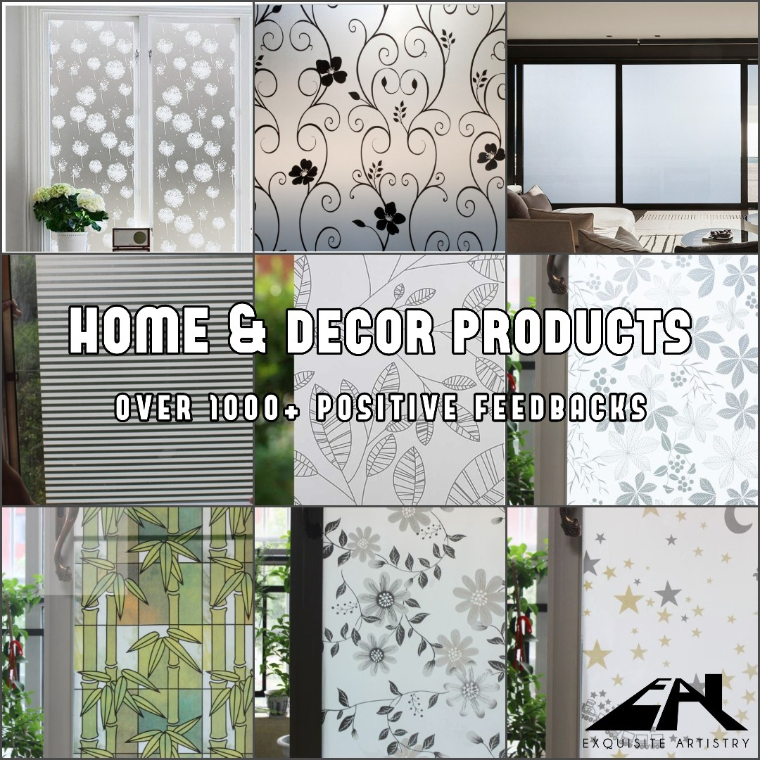 Diy Window Household Film For Privacy Home Decor Wallpaper