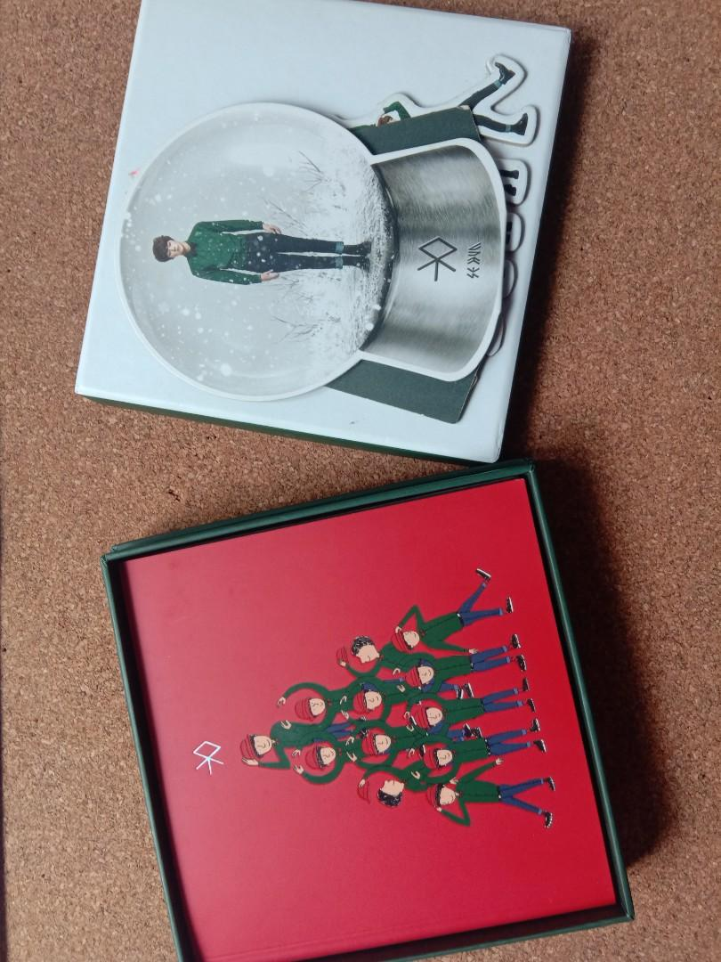 EXO MIRACLE IN DECEMBER ALBUM + SEHUN STANDEE