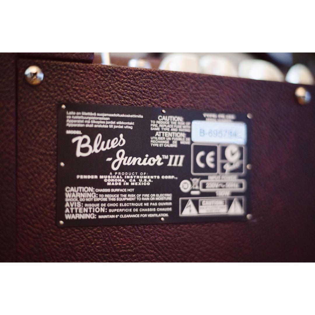 Fender Blues Junior Amp - Limited Edition in Wine Red (FSR