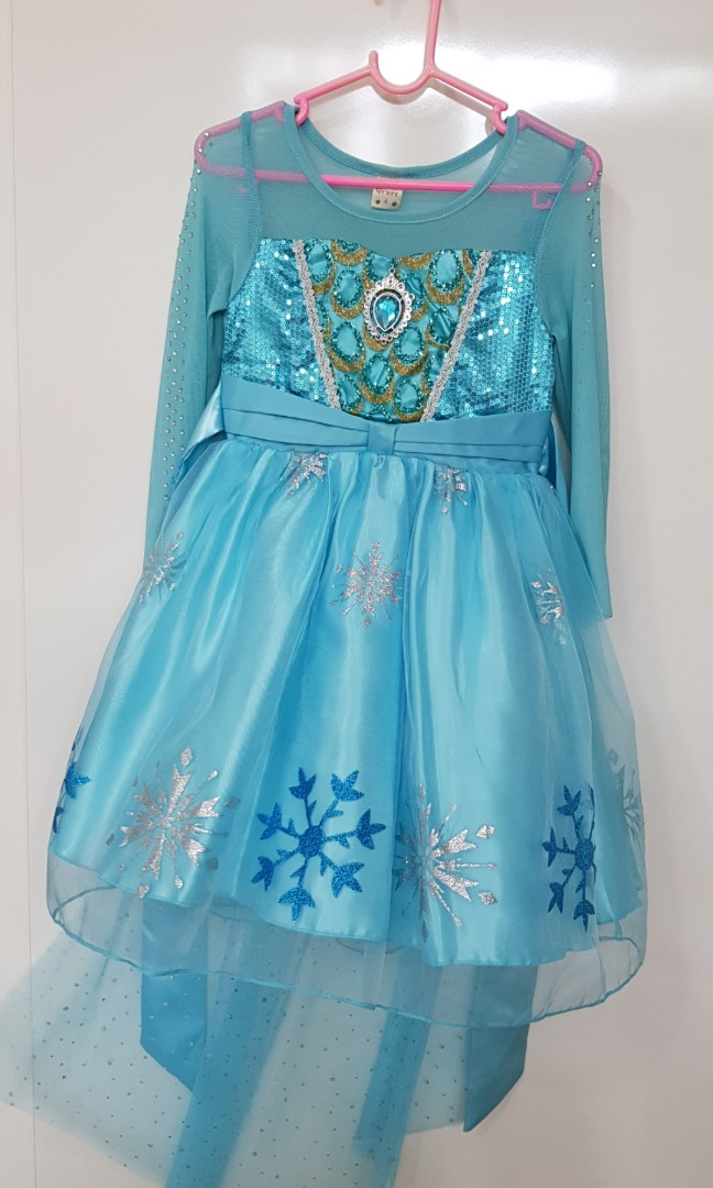 f5f8780266af SpringCleanAndCarouSell Frozen Dress (Elsa and Anna), Babies & Kids ...