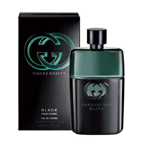 36db807d1 Gucci Guilty Black Pour Homme EDT 50ml( Green & Black Bottle ...
