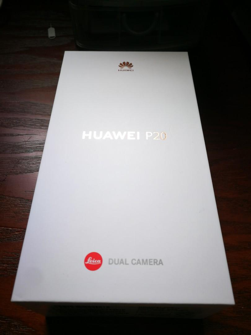 HUAWEI P20 PINK GOLD BOX ONLY
