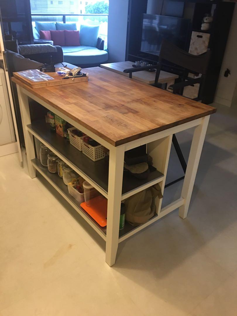 Ikea Kitchen Island Furniture Tables Chairs On Carousell