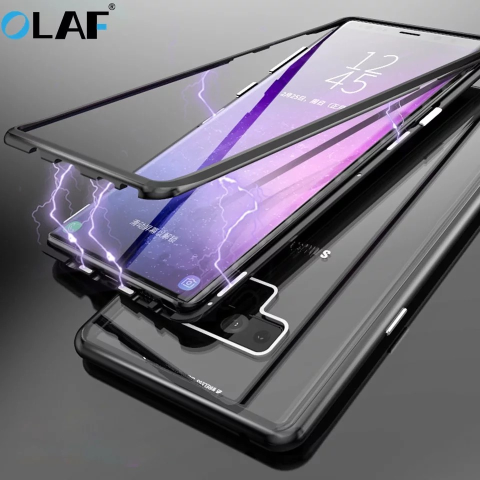new styles 9a372 49743 Instock Ipaky Samsung note 9 Case 360 Metal note 8 Case