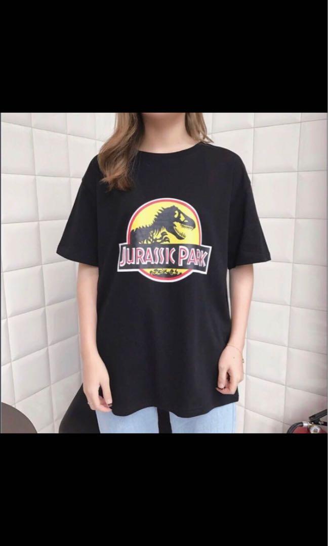 0b3f5db4 Jurassic Park Logo Tee (black), Women's Fashion, Clothes, Tops on ...