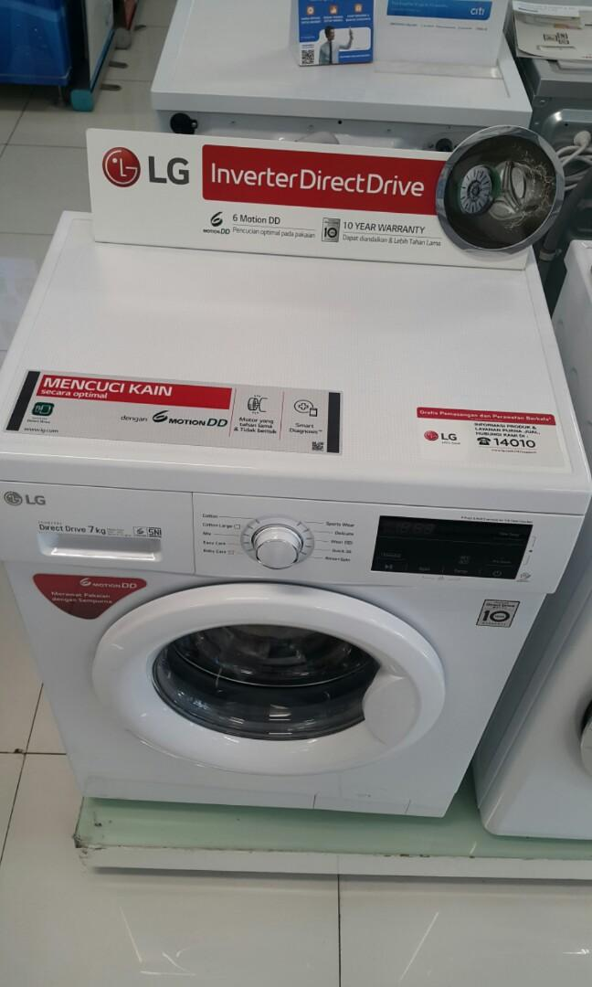 Mesin Cuci Front Loading 7Kg