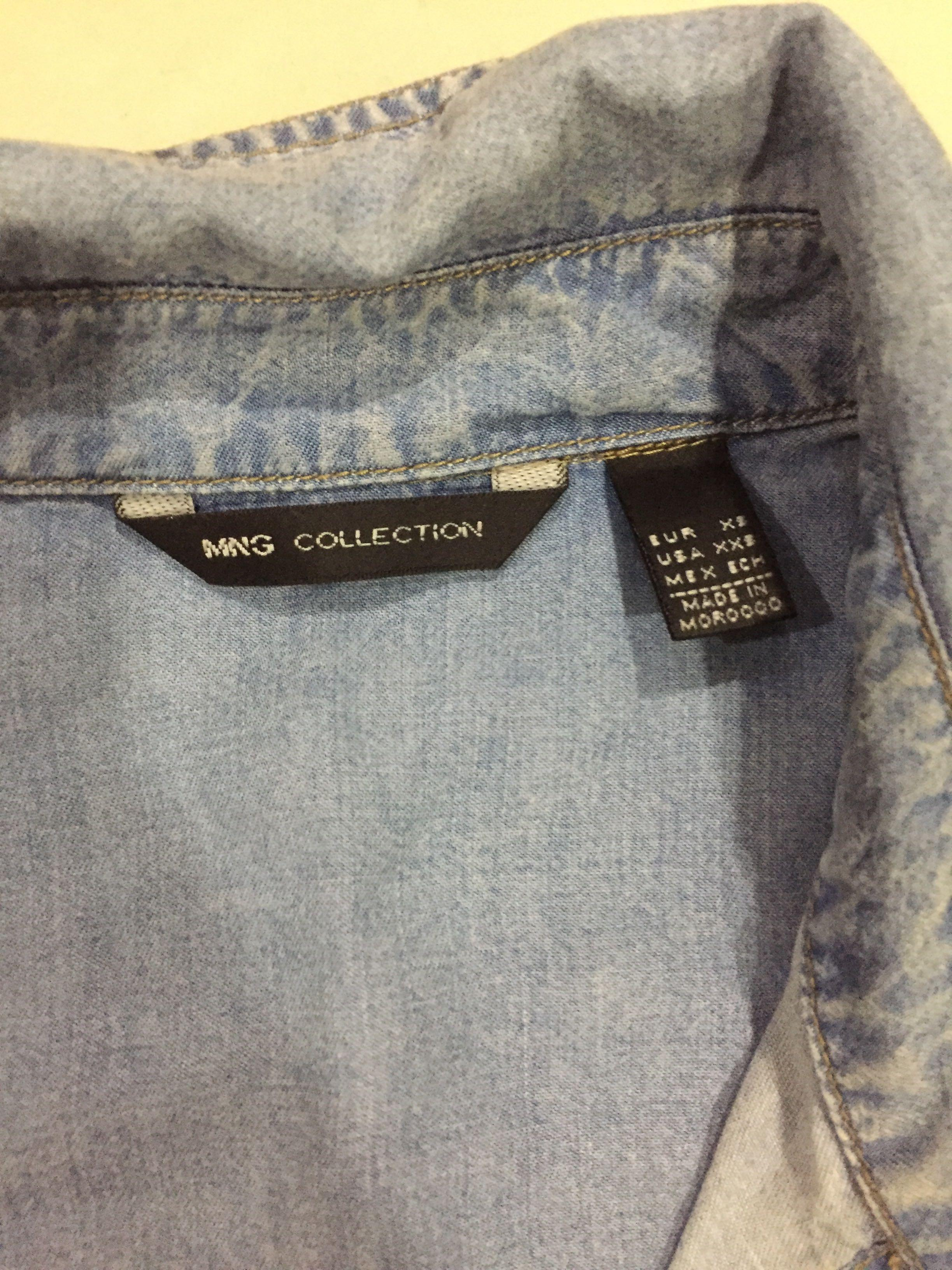 Mng jeans shirt