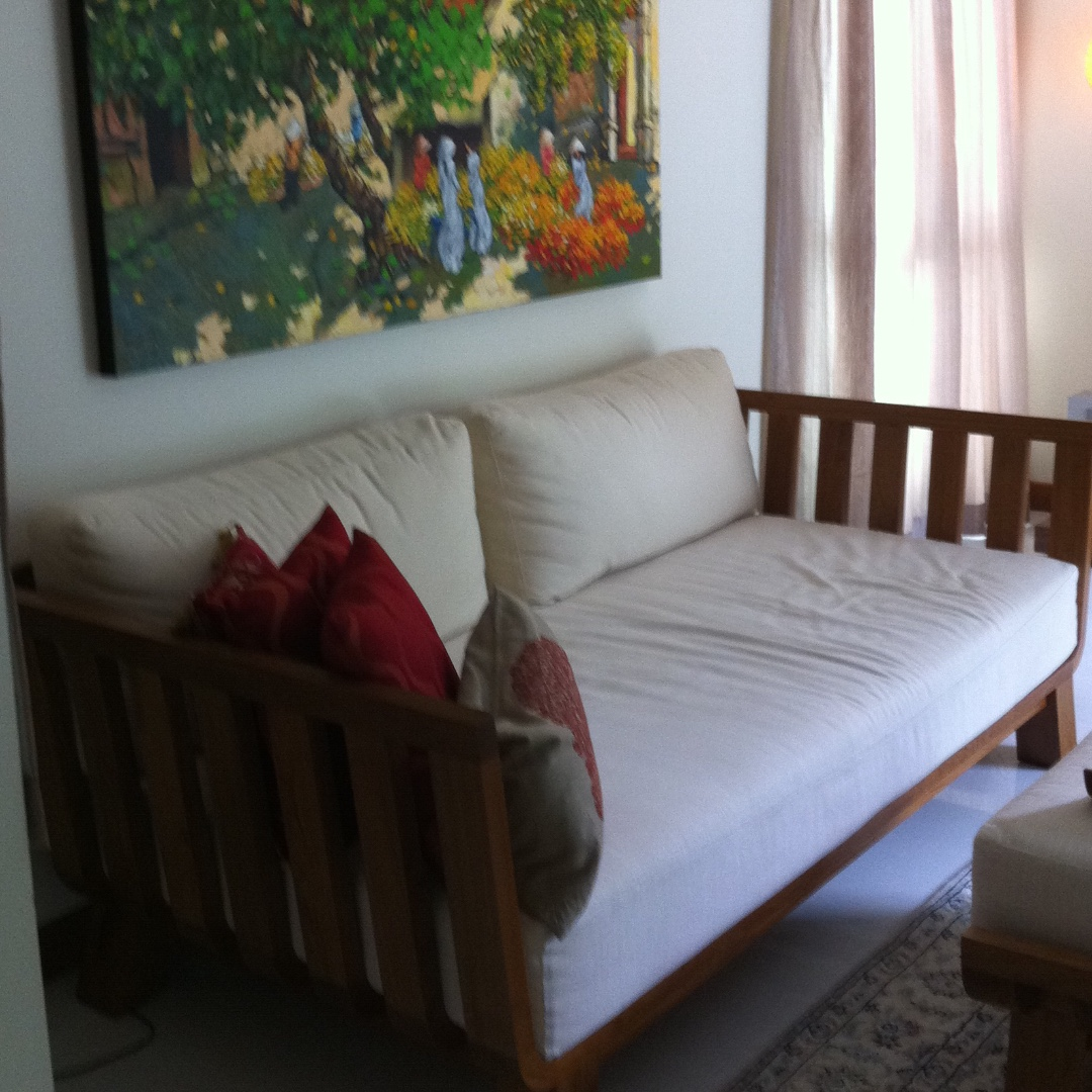 Modern Teakwood Sofa Furniture Sofas On Carousell