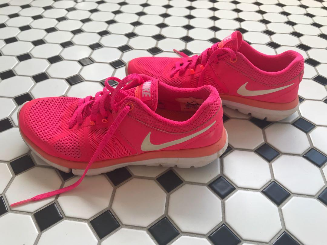 Neon Pink/Hot Pink Women's Nike Running