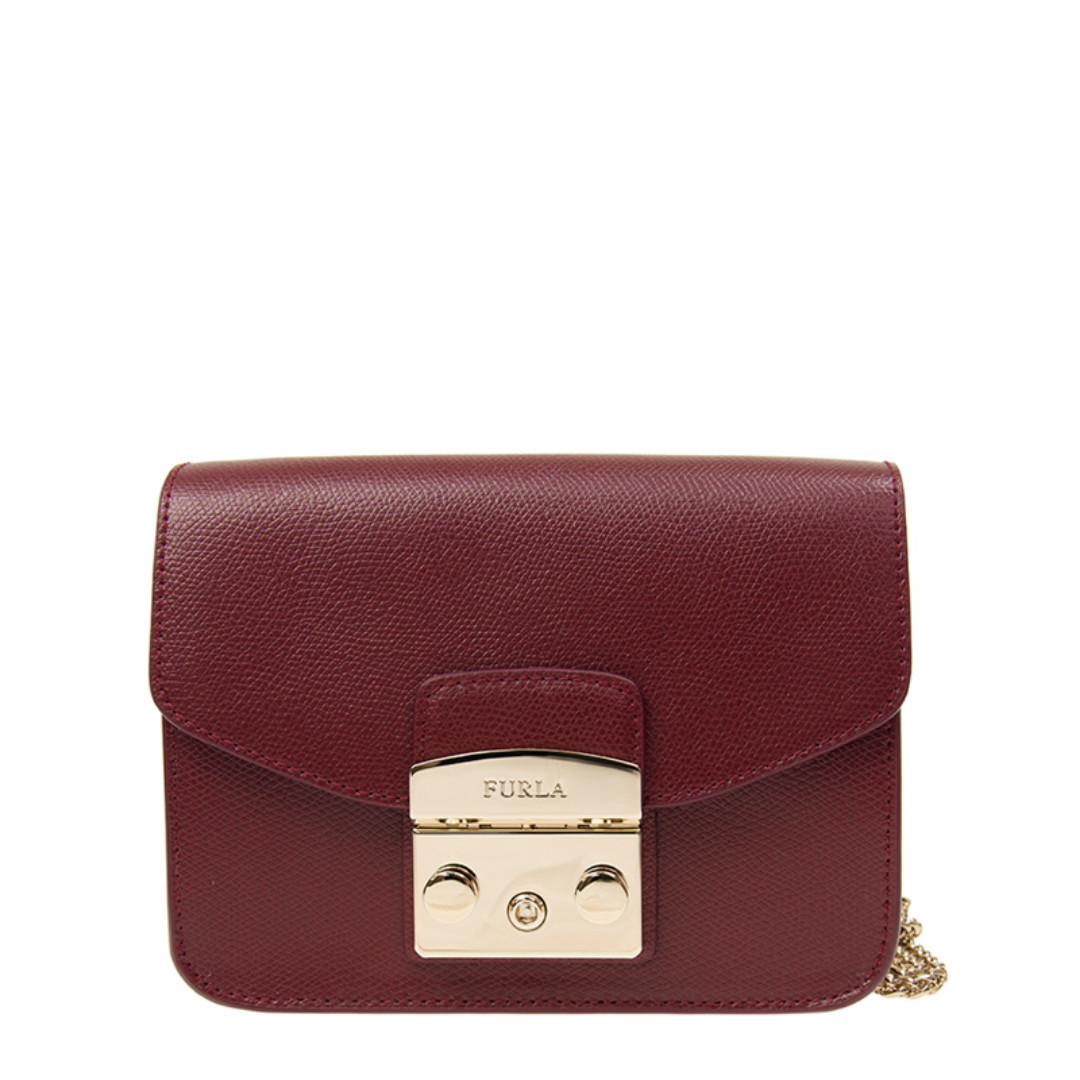 d88b2c7fd NEW ARRIVAL Furla Metropolis Mini Crossbody CILIEGIA D-RED 921163 ...