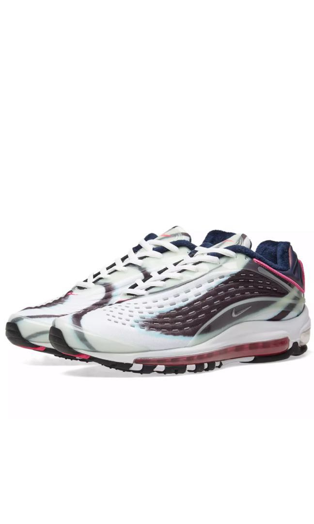 610418c74277 Nike Air Max Deluxe Green Silver Obsidian   Pink (All size available ...