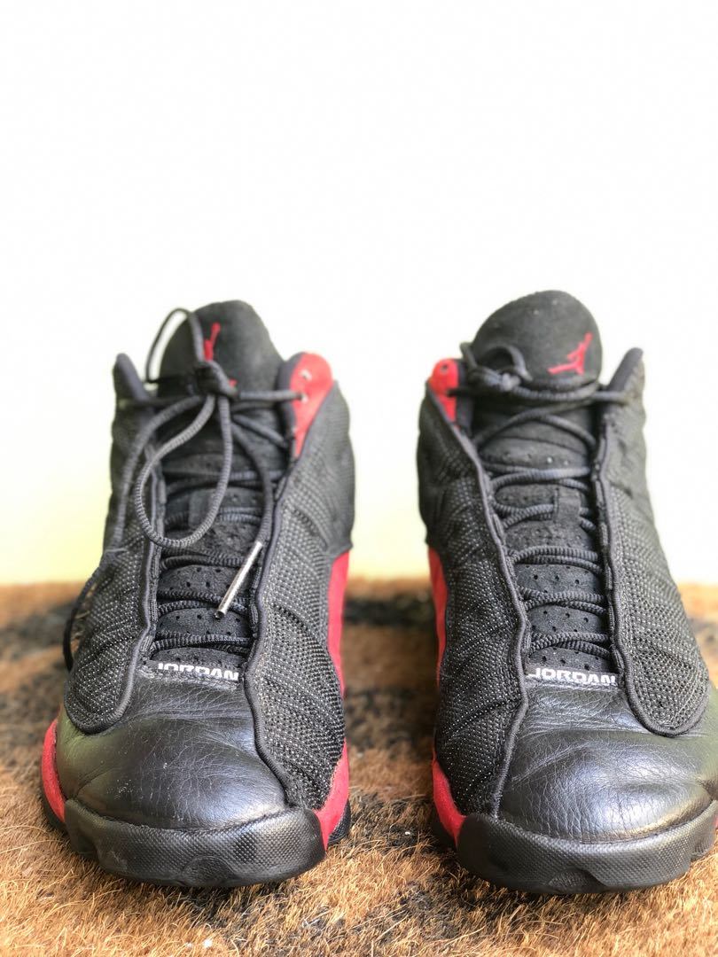 a914a31c194 Nike Men's Air Jordan 13 XIII Retro Black/Red BRED 2013 Basketball Shoes  Size 10.5, Men's Fashion, Footwear, Sneakers on Carousell
