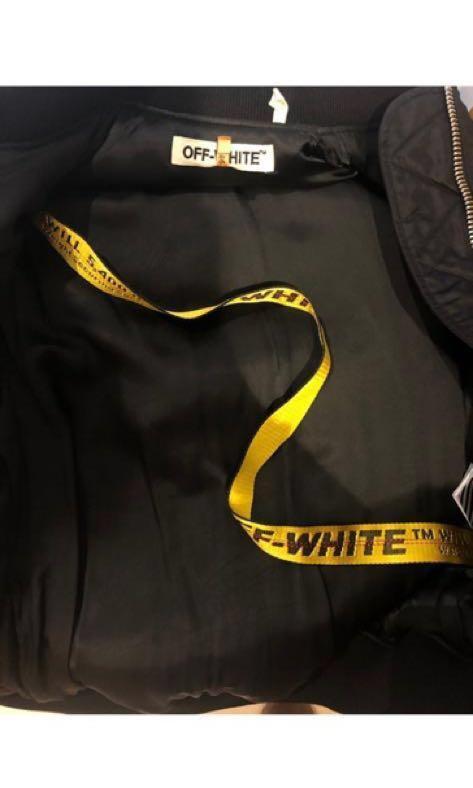 Off White Bomber Jacket