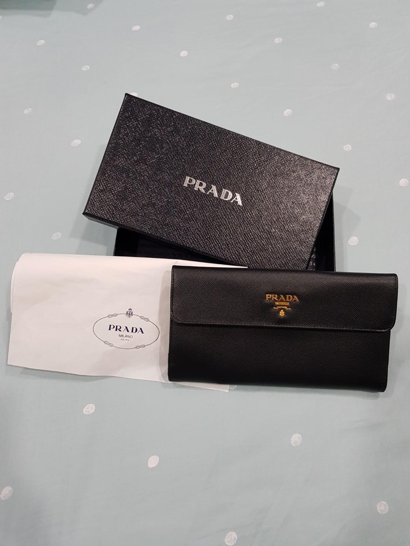 d249984133a2 Prada Women Wallet, Women's Fashion, Bags & Wallets, Wallets on ...