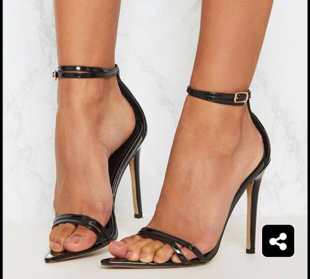 14d209f250 Pretty little thing kardashian pointed toe barely there ankle jpg 621x558 There  stiletto