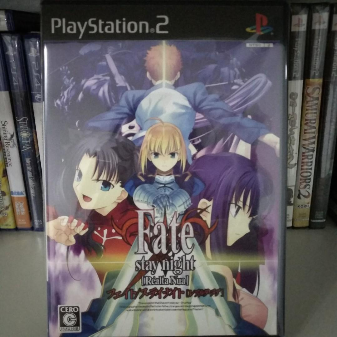 PS2 - Fate/Stay Night: Realta Nua (Japanese Ver ), Toys
