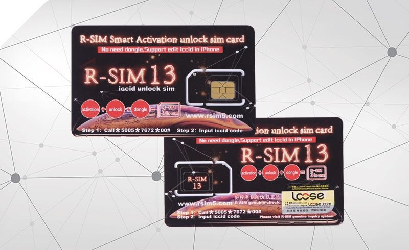 Rsim R-Sim 13 unlock iPhone
