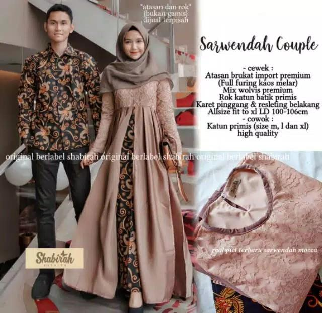 Sarwendah Couple Baju Kebaya Women S Fashion Muslim Fashion