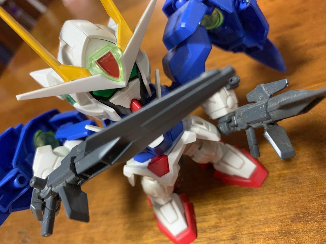 Sd Mobile Suit Gundam 00 Raiser With Box Toys Games Bricks Figurines On Carousell
