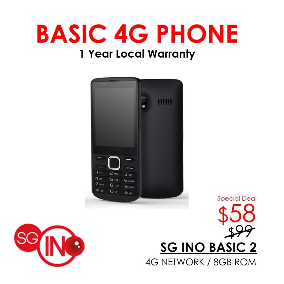 2714e7e6291 SG INO Basic 2 4G Phone