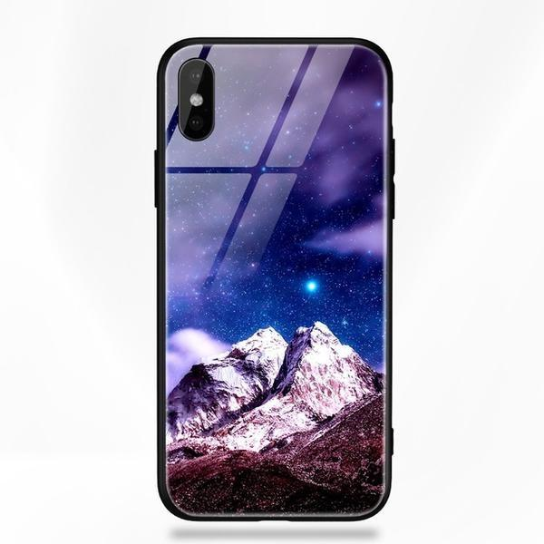 Tempered Glass Super detailed iPhone X cases/covers