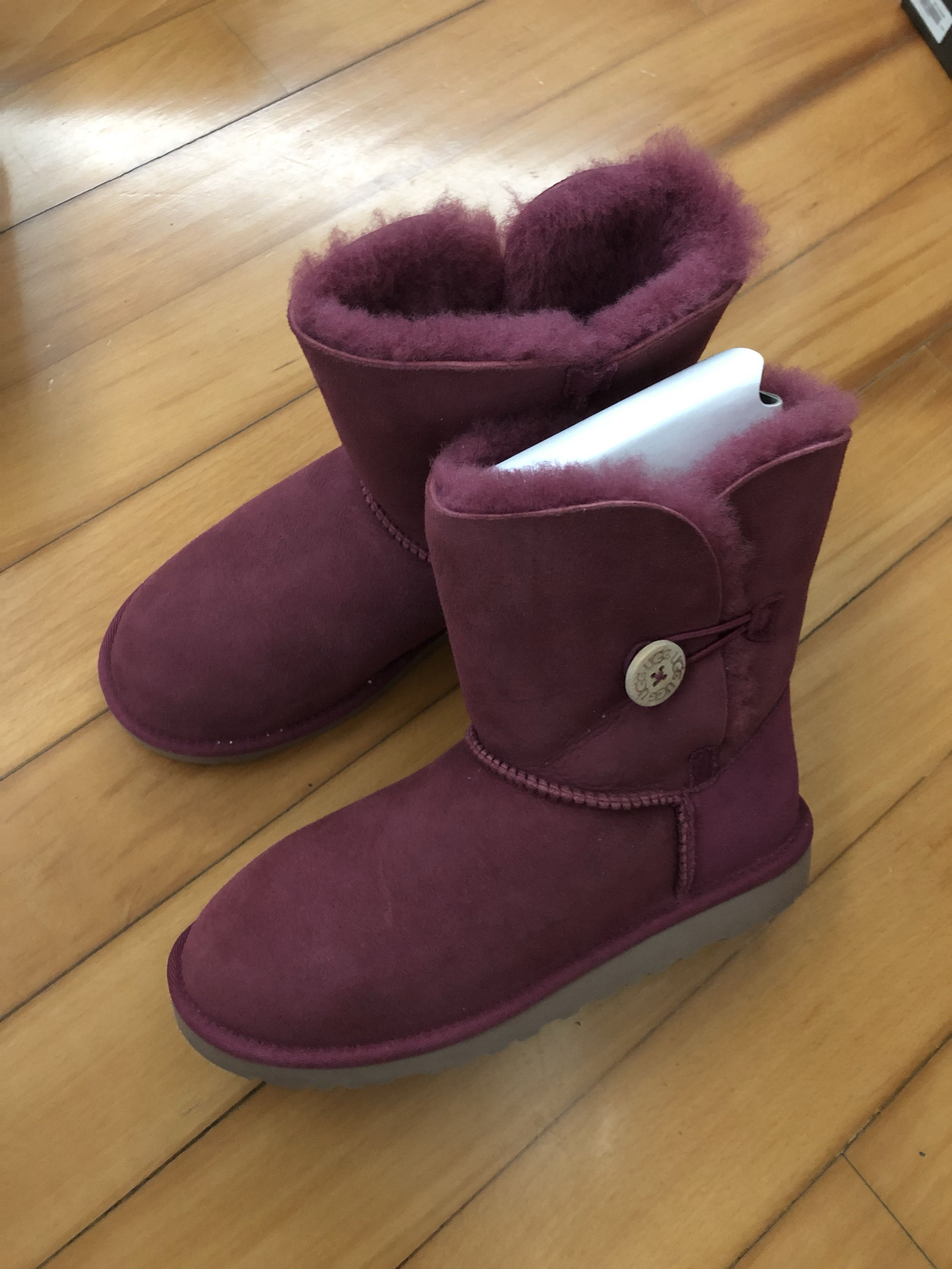 1583d2aa5b7 UGG snow boots in purple pink in UK3