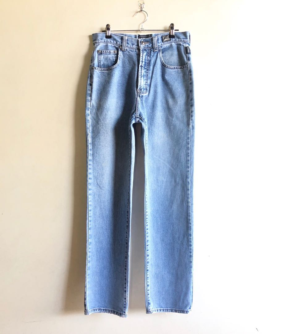 f79f64e0d7f0c Versace Jeans Couture high waist mom jeans