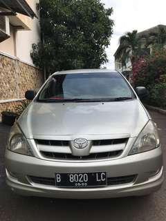 Toyota Kijang Innova G 2.0 2005 M/T