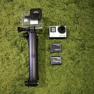 GoPro Hero 4 Black and accessories