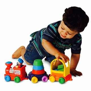 🚚 ~Ready Stocked~ Little Tikes 3 In 1 Sort & Stack Train Toy  #caroupayzerofees