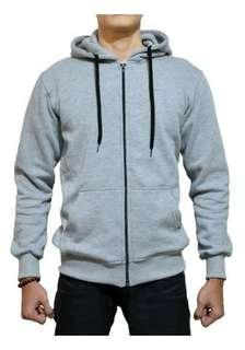 Jaket sweter polos