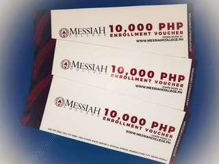 College tuition fee discount at Messiah College
