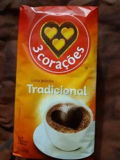 🚚 巴西500g原裝研磨咖啡粉 Tres Coracoes