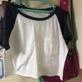 Baseball Crop Top