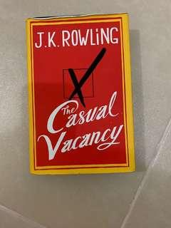 Hardbound- The Casual Vacancy - JK Rowling
