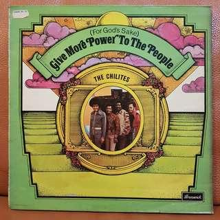 The Chilites - Give More Power To The People Vinyl Record