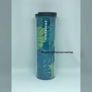 Starbucks Tropical Leaf Acrylic Tumbler
