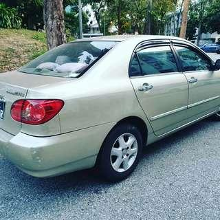 **Cheap Lelong**$50 A Day Toyota Altis 1.6A FOR RENTAL AT YOUR SERVICE