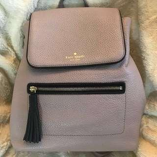 [AUTHENTIC]Kate Spade Chester Street Kacy Leather Backpack in Almondine #NEW99